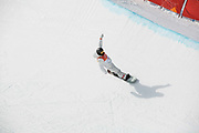 Shaun White, USA, during the mens halfpipe qualifications at the Pyeongchang Winter Olympics on 13th February 2018 at Phoenix Snow Park in South Korea.
