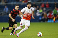 13 December 2015: Clemson's Thales Moreno (BRA). The Clemson University Tigers played the Stanford University Cardinal at Sporting Park in Kansas City, Kansas in the 2015 NCAA Division I Men's College Cup championship match. Stanford won the game 4-0.
