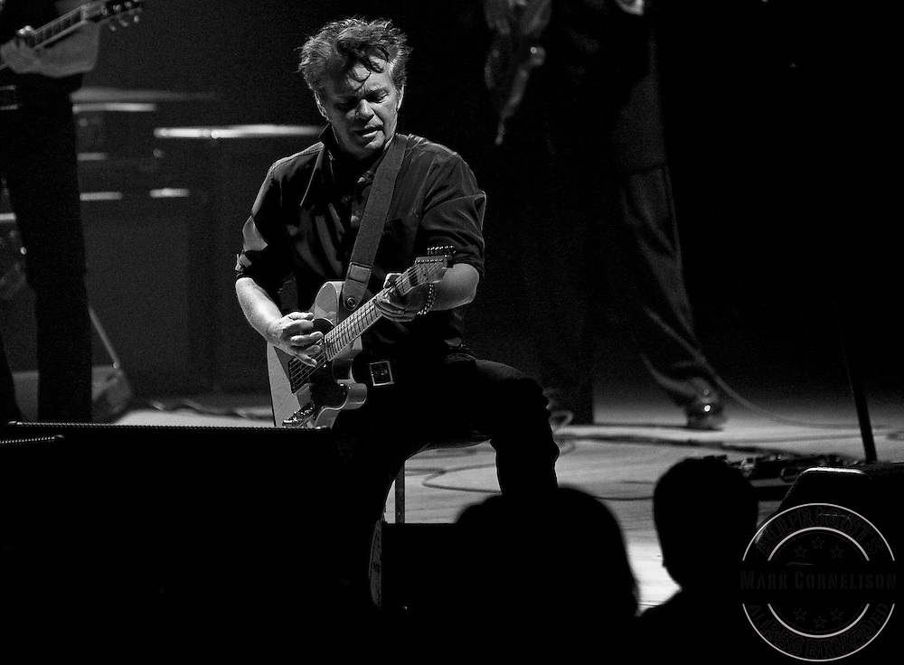 """John Mellencamp played the Music Hall in Cincinnati, Ohio as part of the  """"No better than this"""" tour  on Monday November 1, 2010. Photos by Mark Cornelison"""