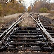 Rail Tracks, North Adams, MA