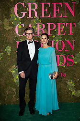Colin Firth, Livia Firth attend the Green Carpet Fashion Awards Gala during Milan Fashion Week Spring/Summer 2019 on September 23, 2018 in Milan, Italy. Photo by Marco Piovanotto/ABACAPRESS.COM
