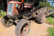 Tractor near Manzanillo, Granma, Cuba.
