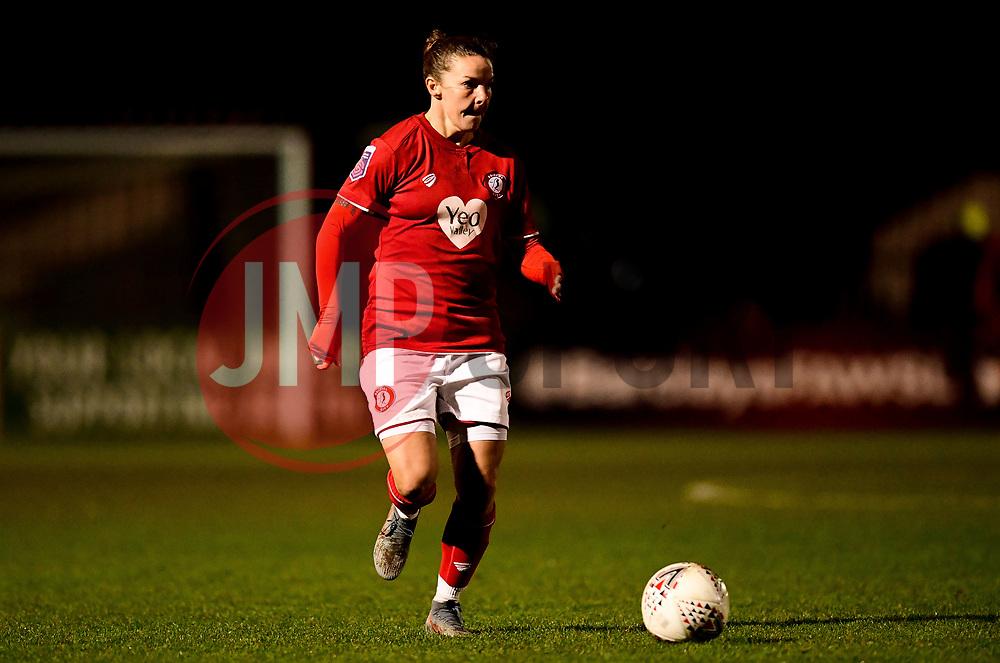 Loren Dykes of Bristol City - Mandatory by-line: Ryan Hiscott/JMP - 08/12/2019 - FOOTBALL - Stoke Gifford Stadium - Bristol, England - Bristol City Women v Birmingham City Women - Barclays FA Women's Super League