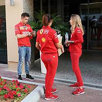 28.11.2019, Yas Marina Circuit, Abu Dhabi, FORMULA 1 ETIHAD AIRWAYS ABU DHABI GRAND PRIX 2019<br />, im Bild<br />Charles Leclerc (MCO#16), Scuderia Ferrari Mission Winnow<br /> <br /> Foto © nordphoto / Bratic