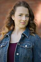 Maddy Schumacher senior portrait session.   ©2015 Karen Bobotas Photographer