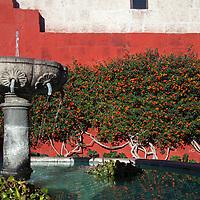 South America, Peru, Arequipa. Zocodovar Square at Monasterio de Santa Catalina.