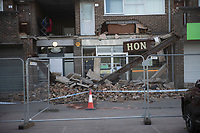 Car crashes into  the Kent Hon Chinese Takeaway a day after it  reopened  for deiverys only,  Kingsley Road, Bicester