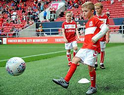 Mascot - Mandatory by-line: Nizaam Jones/JMP- 18/08/2018 - FOOTBALL - Ashton Gate Stadium - Bristol, England - Bristol City v Middlesbrough - Sky Bet Championship