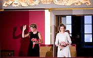 Koningin Maxima woont op uitnodiging van Hare Majesteit Koningin Mathilde van België woensdagavond 2