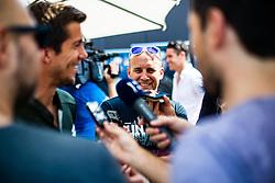 Boston Boh during ATP Press conference with Aljaz Bedene, on July 25th, 2019, in Ljubljansko kopalisce Kolezija, Ljubljana, Slovenia. Photo by Grega Valancic / Sportida