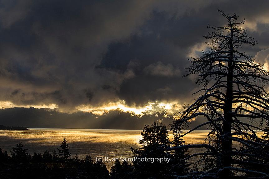 Winter Storm<br /> Lake Tahoe