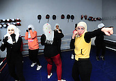 Syria's first women's national boxing team