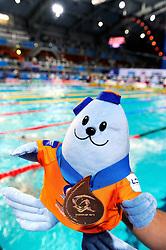 25.11.2010, Pieter van den Hoogenband Zwemstadion, Eindhoven, NED, Kurzbahn Schwimm EM, im Bild Gold Medal. // Eindhoven 25/11/2010 .European Short Course Swimming Championships, EXPA/ InsideFoto/ Staccioli+++++ ATTENTION - FOR USE IN AUSTRIA/AUT AND SLOVENIA/SLO ONLY +++++ / SPORTIDA PHOTO AGENCY