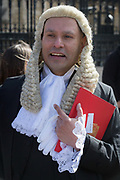Mozammel Hossain QC leaves the House of Commons the UK parliament  after being appointed to his latest legal position, on 11th March 2019, in London, England. Bangladeshi born barrister Hossain has been appointed Queens Counsel. He was sworn in at the Westminster Hall at the Houses of Parliament in the UK on March 11, says a press release. He is the first criminal lawyer of Bangladeshi origin to be appointed as QC. He is also one of the youngest barristers ever to be appointed QC.