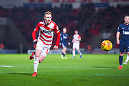 Ali Crawford of Doncaster Rovers (11) rushes towards the ball during the EFL Sky Bet League 1 match between Doncaster Rovers and Southend United at the Keepmoat Stadium, Doncaster, England on 12 February 2019.
