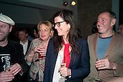 GAVIN TURK; LOUISA BUCK; FIONA BANNER; NICK ROSEN, Art Plus Music Party 2010. Whitechapel art Gallery.  To raise money for the gallery';s education and community programme. 22 April 2010.