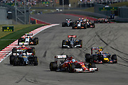 October 30-November 2 : United States Grand Prix 2014, Fernando Alonso (SPA), Ferrari leads cars during the start at COTA