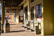 The historic gold mining town of Virginia City, Nevada.