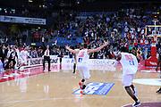 DESCRIZIONE : Pesaro Lega A 2013-14 VL Pesaro Granarolo Bologna<br /> GIOCATORE : esultanza<br /> CATEGORIA : esultanza team scelta<br /> SQUADRA : VL Pesaro Granarolo Bologna<br /> EVENTO : Campionato Lega A 2013-2014<br /> GARA : VL Pesaro Granarolo Bologna<br /> DATA : 27/04/2014<br /> SPORT : Pallacanestro <br /> AUTORE : Agenzia Ciamillo-Castoria/C.De Massis<br /> Galleria : Lega Basket A 2013-2014  <br /> Fotonotizia : Pesaro Lega A 2013-14 VL Pesaro Granarolo Bologna<br /> Predefinita :