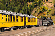 The Durango & Silverton Narrow Gauge Railroad, Silverton, Colorado USA