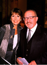 Actress ANITA HARRIS and MR MIKE MARGOLIS, at a luncheon in London on 21st October 1998.MLA 29