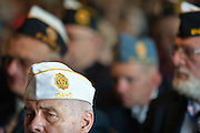 Department Service Officer for the the Department of Idaho Milt Smith listens intently to one of the many presentations made to commence the 92nd Annual American Legion Convention.