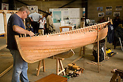 Display International Boatbuilding College at Maritime Day event, Woodbridge, Suffolk 2010