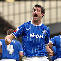 Photo: Ashley Pickering/Sportsbeat Images.<br /> Norwich City v Ipswich Town. Coca Cola Championship. 04/11/2007.<br /> Alan Lee celebrates his opener for Ipswich