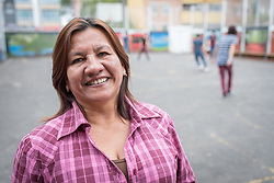 18 November 2018, Bogotá, Colombia: Nubia Gualdrón is the principal of the school CELCO San Lucas. The church of San Lucas ('Saint Lucas') of the Evangelical Lutheran Church of Colombia, brings together a congregation of some 100 people in the southern areas of Bogotá. Located in the Kennedy area, the church has recently celebrated 50 years. As part of its ministry, the church runs a school and college, The Colegio Evangelico Luterano de Colombia (CELCO) San Lucas, offering education to just over 1,000 students aged 3-18. The school started as a social initiative offering care for children aged 0-4 in Bogotá's less wealthy neighbourhood, allowing the parents opportunities to go to work. 36 years after its foundation, the school employs 56 staff, of which 36 are teachers.