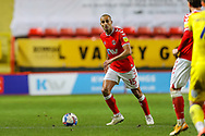 Charlton Athletic midfielder Darren Pratley (15) during the EFL Sky Bet League 1 match between Charlton Athletic and AFC Wimbledon at The Valley, London, England on 12 December 2020.