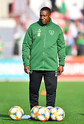 Republic of Ireland coach Terry Connor prior to the UEFA Euro 2020 Qualifying, Group D match at the Victoria Stadium, Gibraltar.