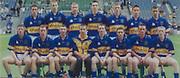 All Ireland Senior Hurling Championship Final,.08.09.2002, 09.08.2002, 8th September 2002,.Senior Kilkenny 2-20, Clare 0-19,.Minor Kilkenny 3-15, Tipperary 1-7,.8092002AISHCF,..Kilkenny Minor, back row from left, Shane Coonan, Stephen  Maher, David Prendergast, John Tennyson, PJ Delaney, Ciaran Hayne, Michael Rice, Front row, Richie Power, James Fitzpatrick,  Shane Cadogan, Colin Grant, Alan Healy, Keith Nolan, Padraig Holden, Willie O'Dwyer, ..Tipperary Minor, back row from left, Michael Bergin, Tony Scroope, Derek Bourke, Conor O'Mahoney, Francis Devaney, Trevor Ivors, Wayne Cully, Front row from left, David Kennedy, Diarmuid Corcoran, John Boland, Patrick McCormack captain, Martin Treacy, Willie Ryan, David Morrissey, Pat Short, ..Lucozade,