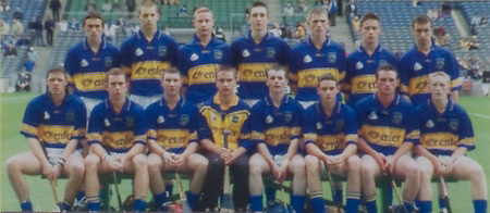 All Ireland Senior Hurling Championship Final,.08.09.2002, 09.08.2002, 8th September 2002,.Senior Kilkenny 2-20, Clare 0-19,.Minor Kilkenny 3-15, Tipperary 1-7,.8092002AISHCF,..Kilkenny Minor, back row from left, Shane Coonan, Stephen  Maher, David Prendergast, John Tennyson, PJ Delaney, Ciaran Hayne, Michael Rice, Front row, Richie Power, James Fitzpatrick,  Shane Cadogan, Colin Grant, Alan Healy, Keith Nolan, Padraig Holden, Willie O'Dwyer, ..Tipperary Minor, back row from left, Michael Bergin, Tony Scroope, Derek Bourke, Conor O'Mahoney, Francis Devaney, Trevor Ivors, Wayne Cully, Front row from left, David Kennedy, Diarmuid Corcoran, John Boland, Patrick McCormack captain, Martin Treacy, Willie Ryan, David Morrissey, Pat Short, ..Lucozade,