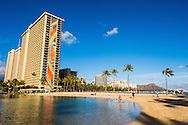 Hilton Hawaiian Village, Waikiki Beach, Honolulu, Oahu, Hawaii