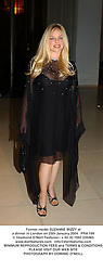 Former model SUZANNE MIZZY at a dinner in London on 25th January 2004.  PRA 199