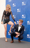 Fien Troch and Sebastian Van Dun at the Home film photocall at the 73rd Venice Film Festival, Sala Grande on Saturday September 3rd 2016, Venice Lido, Italy.