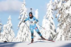 14.02.2021, Center Pokljuka, Pokljuka, SLO, IBU Weltmeisterschaften Biathlon, Sprint, Damen, im Bild chevalier bouchet (anais) (fra) // during womens Sprint competition of IBU Biathlon World Championships at the Center Pokljuka in Pokljuka, Slovenia on 2021/02/14. EXPA Pictures © 2021, PhotoCredit: EXPA/ Pressesports/ Frederic Mons<br /> <br /> *****ATTENTION - for AUT, SLO, CRO, SRB, BIH, MAZ, POL only*****