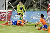 Fotball , 19. februar 2015 ,  privatkamp  <br /> Aalesund - Tromsø<br /> Henrik Bjørdal , Aalesund har her scoret<br /> Benny Lekstrøm , TIL er forbannet