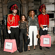 LOUISE THOMPSON , EMILY SHAK ARRIVERS BOUX AVENUE XMAS CAMPAIGN LAUNCH EVENT at SOMERSET HOUSE, on 9 November 2018, London, UK.