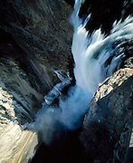 Yellowstone Falls on the Yellowstone River, Yellowstone National Park, Wyoming, USA
