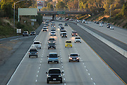 Commuters sit in traffic on I-680 near Montague Expressway in Milpitas, California, on September 8, 2015. (Stan Olszewski/SOSKIphoto)