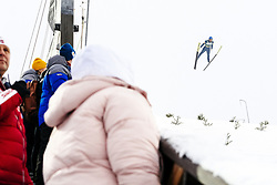 February 8, 2019 - Lahti, Finland - Bernhard Gruber competes during Nordic Combined, PCR/Qualification at Lahti Ski Games in Lahti, Finland on 8 February 2019. (Credit Image: © Antti Yrjonen/NurPhoto via ZUMA Press)