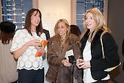 SAMANTHA CAMERON; PIA GETTY;, Smythson Sloane St. Store opening. London. 6 February 2012.