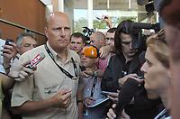 Sykkel<br /> Tour de France 2006<br /> Foto: imago/Digitalsport<br /> NORWAY ONLY<br /> <br /> 30.06.2006 <br /> <br /> Teamchef Bjarne Riis (Dänemark) nimmt zu den Dopingvorwürfen seines Schützlings Ivan Basso (Italien / beide CSC) Stellung - PUBLICATIONxNOTxINxITAxFRA