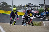 #63 (VANKAMMEN Zachary) USA at Round 6 of the 2018 UCI BMX Superscross World Cup in Zolder, Belgium