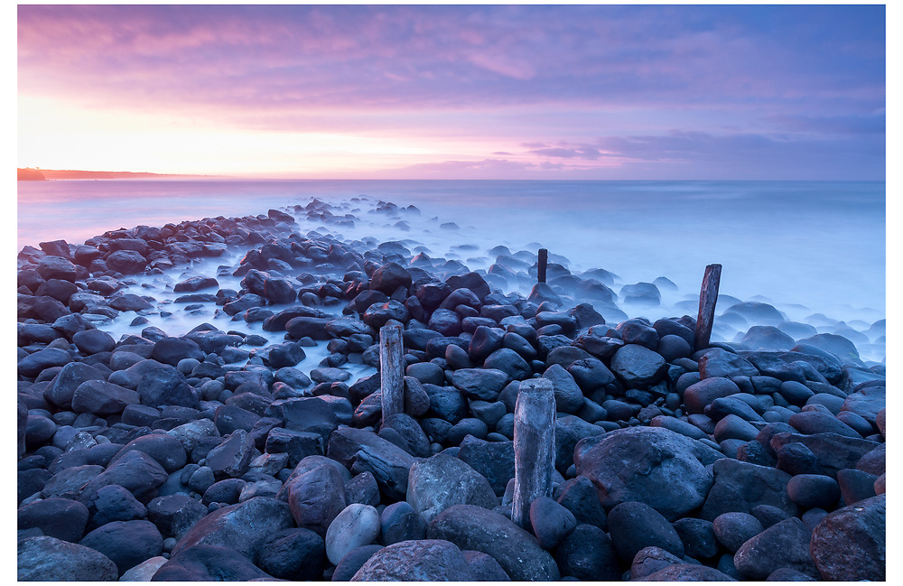 Opunake coastline, South Taranaki.