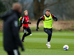 Chris Martin of Bristol City during a training session ahead of the FA Cup game with Portsmouth - Rogan/JMP - 07/01/2021 - Failand - Bristol, England.