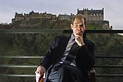Editorial portrait photograph of David Stevenson, Fund Manager at Scottish Value Management in Edinburgh. Pic By Mark K Jackson 16.02.01.
