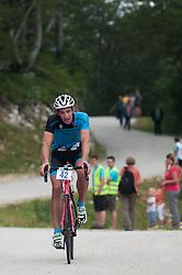 at 8. Kolesarski vzpon na Krvavec from Grad pri Cerkljah to Jezerca na Krvavcu, on August 2, 2014. Photo by Matic Klansek Velej / Sportida.com