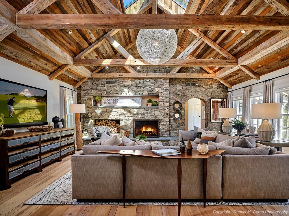 Reclaimed Wood Great Room